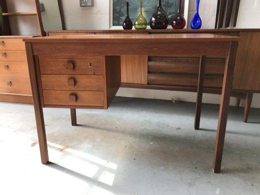 Vintage 1960s / 1970s DanishDomino Møbler Teak Desk