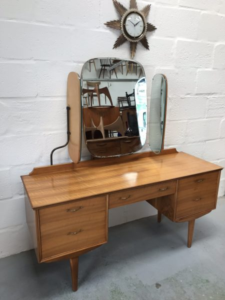 Vintage Mid Century Alfred Cox Dressing Table