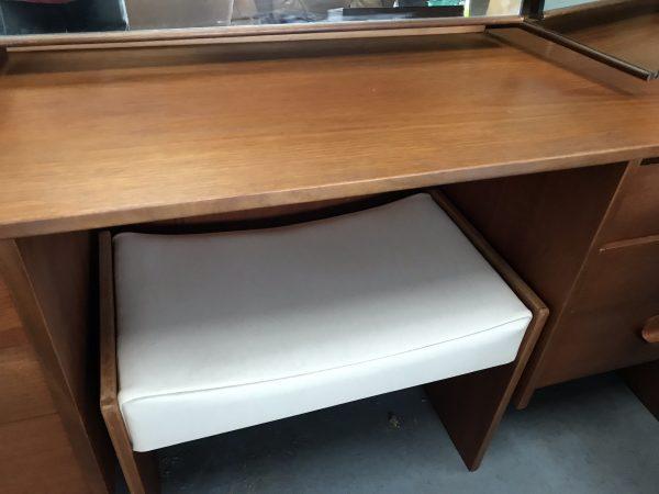 Mid Century Vintage STAG Dressing Table / Desk