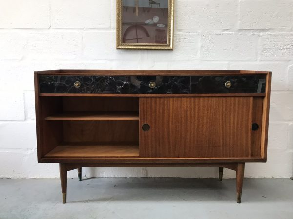 Rare Mid Century 1950s Sideboard / Drinks Cabinet