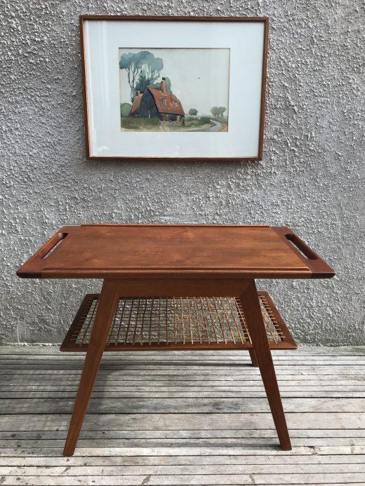 Danish Vintage Mid Century Coffee / Tray Table