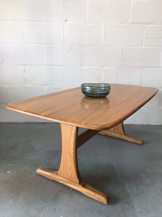 Ercol Windsor Blonde Refectory Supper Table / Coffee Table