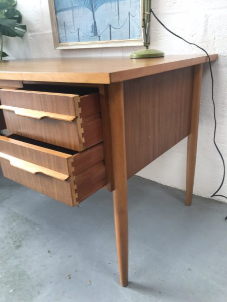 Mid Century Morris Of Glasgow Writing / Computer Desk