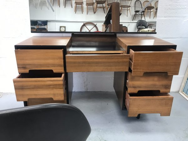Mid Century Vintage 1950s STAG Dressing Table / Desk