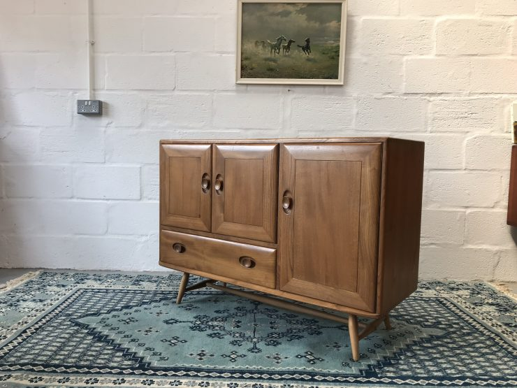 Mid Century Vintage 1950s Stylish Sideboard By Ercol 366