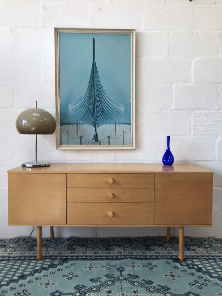 Vintage AVALON Sideboard Retro Mid Century Danish Scandi Style
