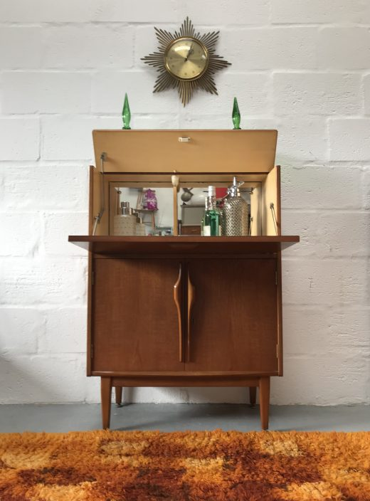 Mid Century Vintage Jentique Drinks / Cocktail Cabinet