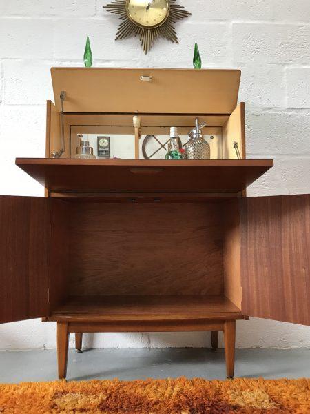 Mid Century Vintage Jentique Drinks / Cocktail Cabinet