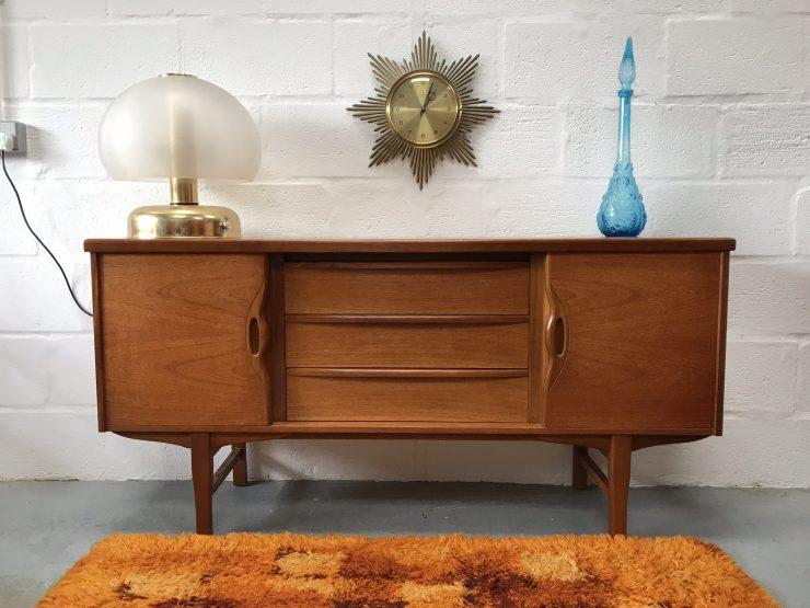 Vintage Retro Mid Century Teak Sideboard by Jentique Furniture
