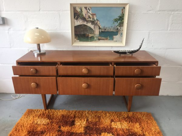 Vintage Sideboard / Chest of Drawers Retro Mid Century