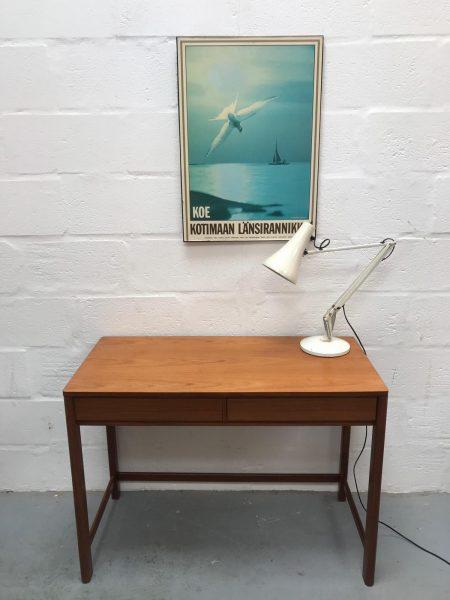 Mid Century Teak Console / Hallway Table / Desk