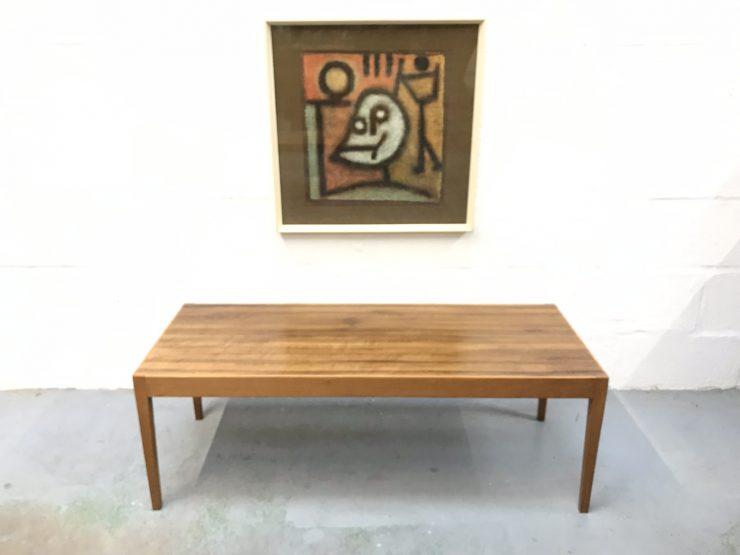 Heals 1960s Rectangular Low Coffee Table by Vanson Vintage Mid Century
