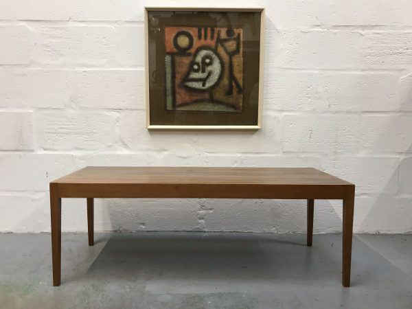 Heals 1960s Rectangular Low Coffee Table by Vanson Vintage Mid Century