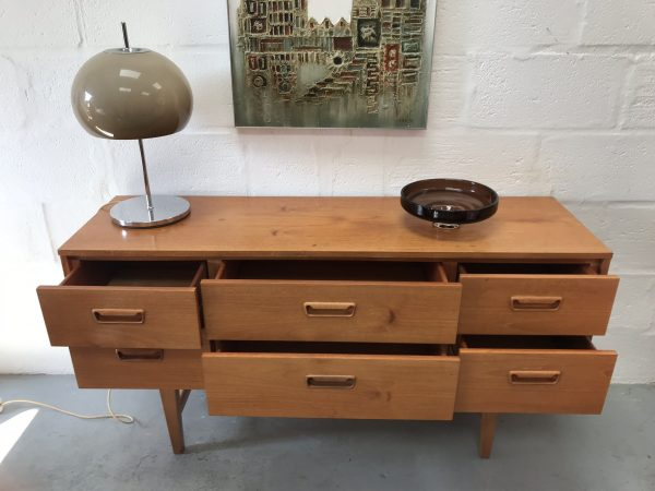 Mid Century  Sideboard / Chest of Drawers Vintage