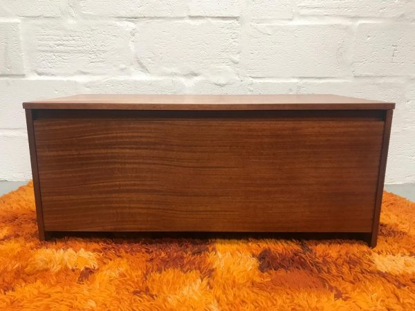 Vintage Retro Teak Avalon Ottoman / Toy Box Storage