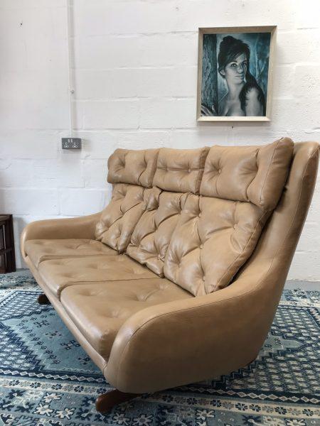 Original 1970s Vintage Retro Sofa