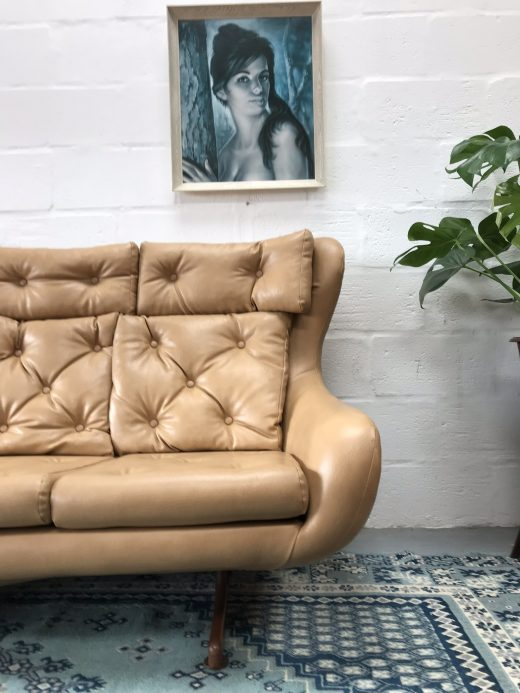 Original 1970s Vintage Retro Sofa