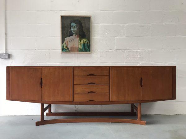 Joannes Andersen HB20 Sideboard Mid Century 1960s Danish Vintage