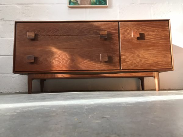 Iconic Mid Century IB Kofod Larsen for G PLAN Dressing Chest  / Compact Sideboard