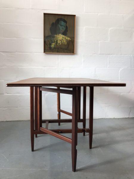 Vintage Mid Century Richard Hornby for Heal's Teak Drop Leaf Dining Table