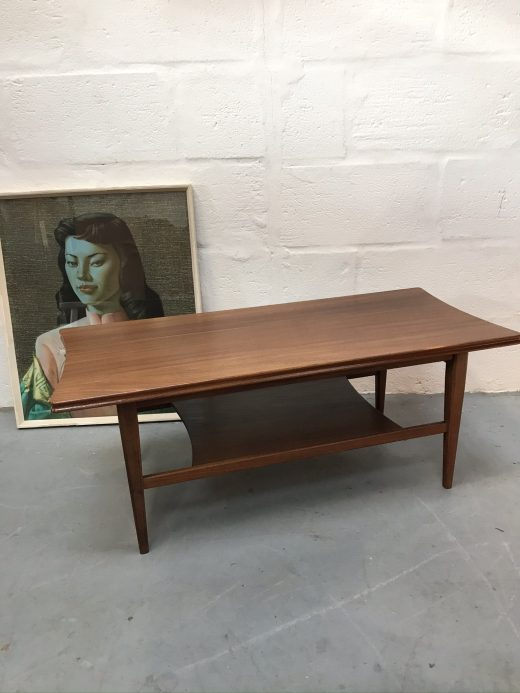 Vintage Mid Century Richard Hornby Two-Tier Coffee Table