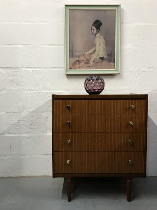 Vintage 1960's WRIGHTON Chest of Drawers Mid-Century