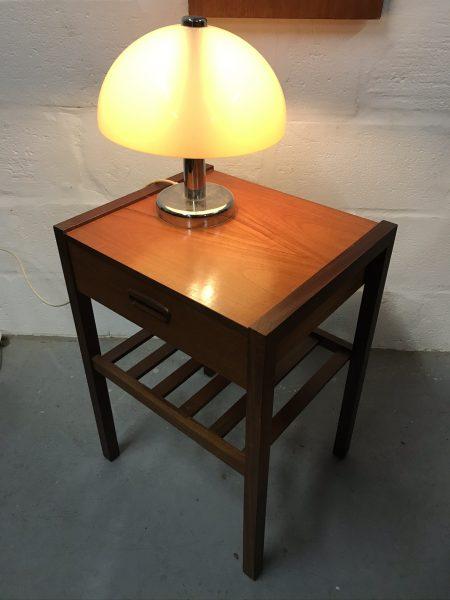 Vintage Danish Style Mid Century Side Table / Telephone Table