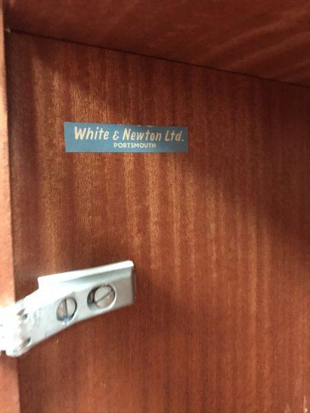 Vintage White & Newton High Sideboard 1960s 1970s Retro Mid Century
