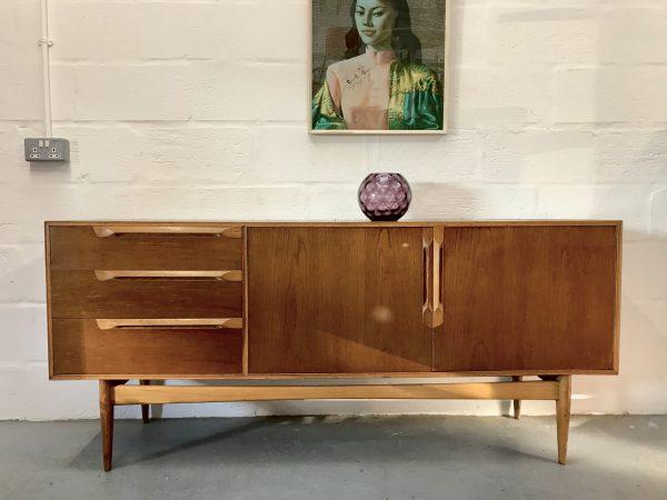 Mid Century Vintage 1960s MCINTOSH Sideboard Danish Style