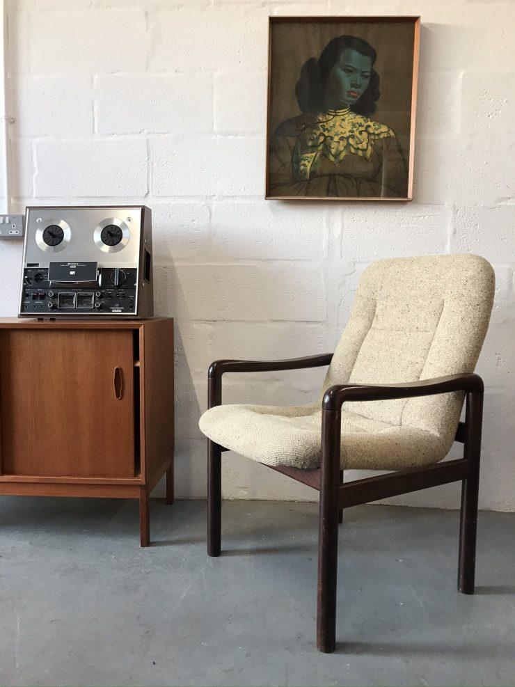 Danish Vintage Dyrlund Chair 8594 Rosewood