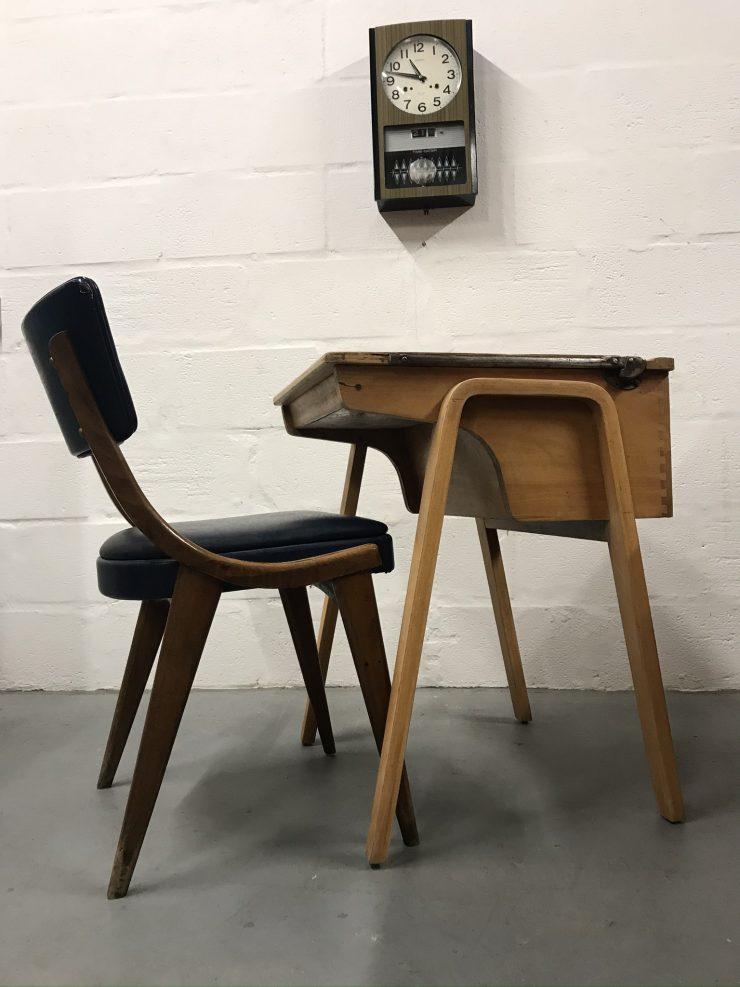 Vintage Mid Century School / College Desk