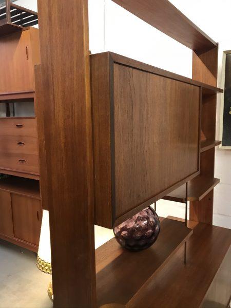 Vintage Mid Century 1960s G PLAN Brasilia Range Teak Room Divider / Bookcase