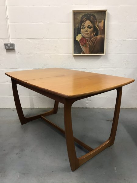 Mid Century Vintage PORTWOOD Dining Table & 4 Chairs