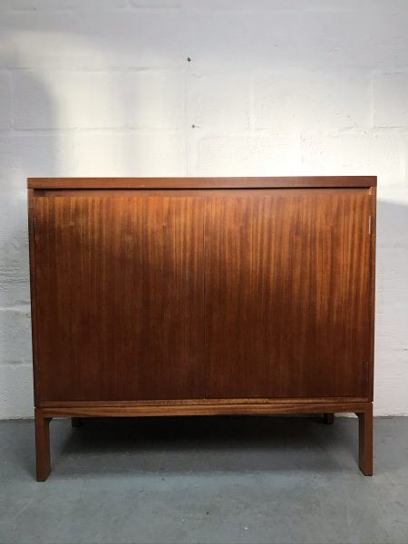 Vintage Danish Mid Century Record Storage / Drinks Cabinet Scandi Style