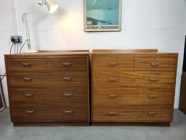 Vintage Staverton 1970s MOD Chest of Drawers