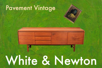 Vintage White & Newton 'Petersfield' Sideboard