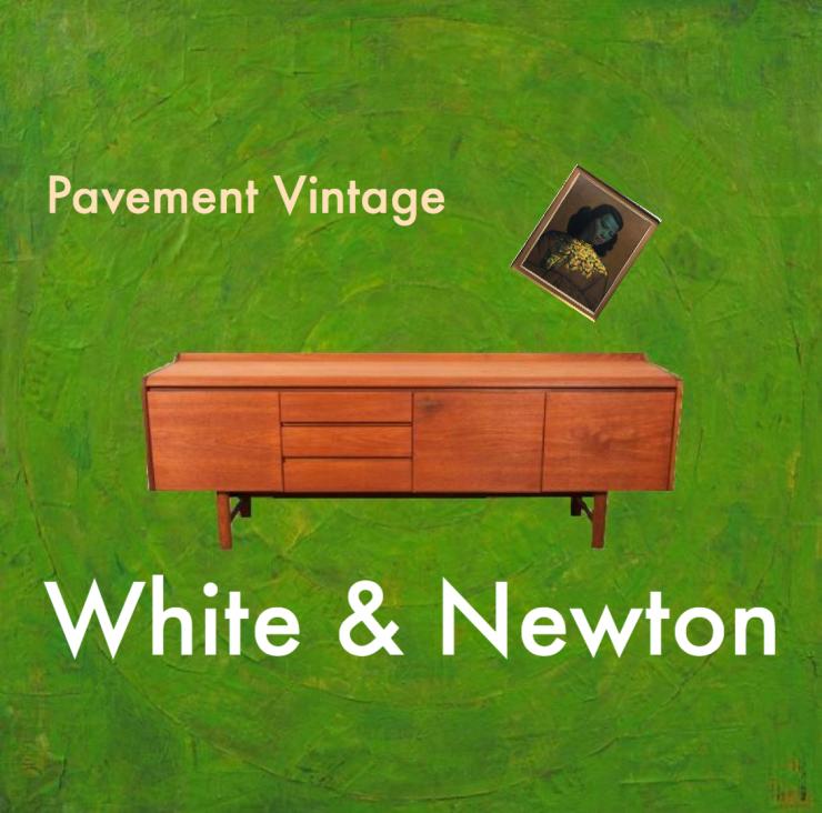 Vintage White & Newton 'Petersfield' Sideboard