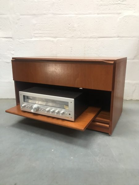 Retro 1970s Media / Hifi / TV Unit Vintage