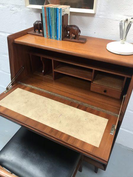 1960s Mid Century Bureau Desk Drawers