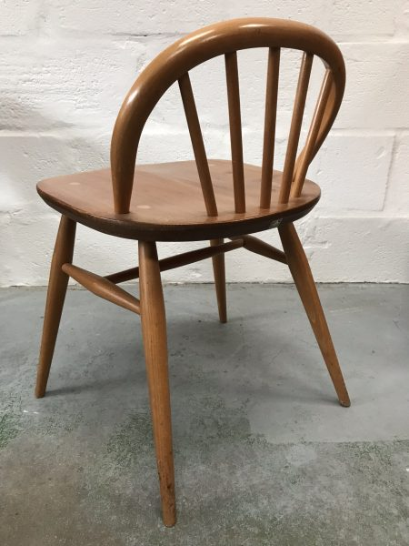 Original Mid Century ERCOL Windsor Writing Table / Desk  & Chair