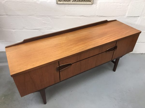 Mid Century Teak Low Sideboard by Remploy