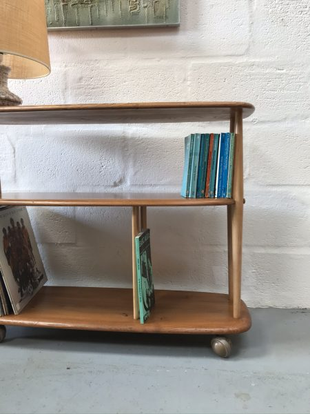 1960s Vintage Ercol Windsor Trolley / Bookcase 361