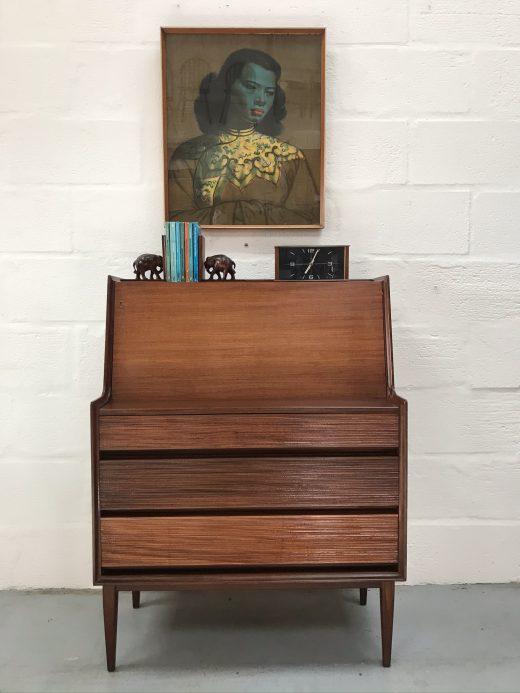 Vintage Richard Hornby Writing Desk / Bureau 1960s