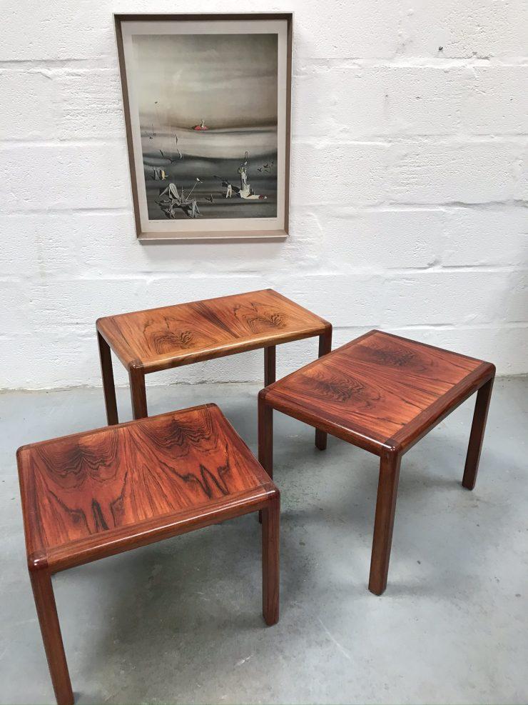 Retro Vintage Set of Nesting Tables