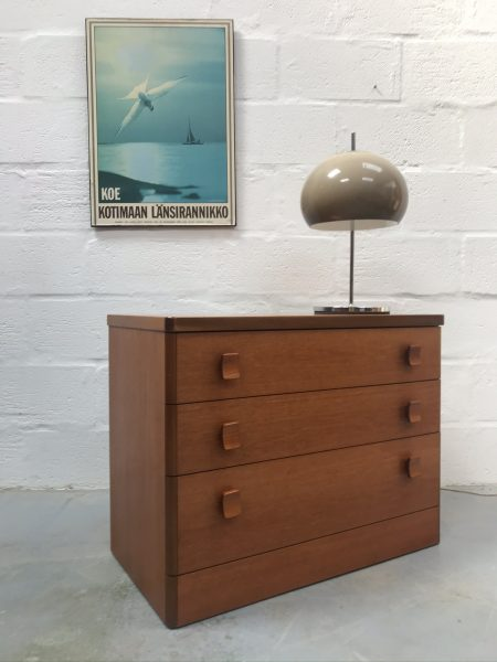 Mid Century Vintage Small Chest of Drawers by Stag