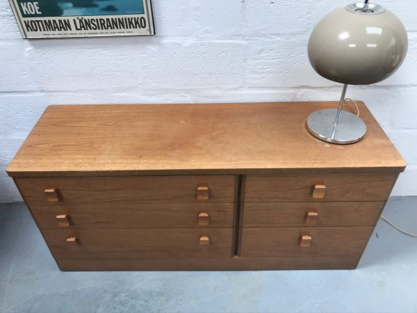 Mid Century Double Banks of Drawers by Stag