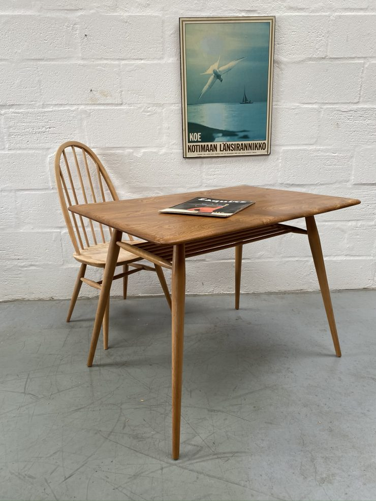 Vintage Ercol 393 Mid Century Breakfast Table