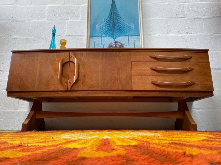 Vintage Mid Century 'Beautility' Sideboard