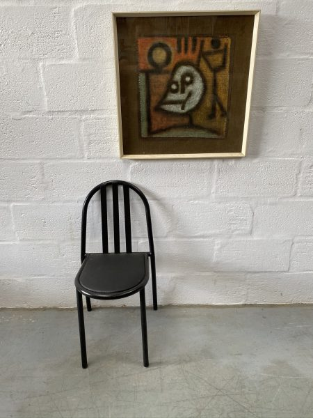 4 x Vintage No.222 Bauhaus Stacking Chairs by Robert Mallet Stevens