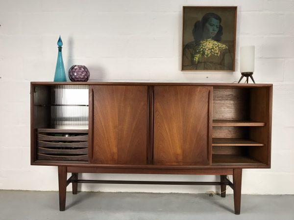 Mid Century Arne Vodder for H P Hansen Vintage Danish Sideboard